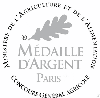 Médaille d'argent pour notre jus de raisin Muscat !